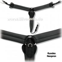 Neopren-Vorderzeug-Western, Breast-Collar von Silverado
