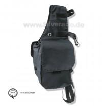 Trekking-Tasche aus Nylon, mit Klettverschluß von Silverado
