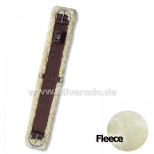 Fleece Westernsattelgurt, rostfrei von Silverado