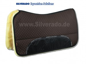 Silverado Lammfell-Westernpad Premiumqualität