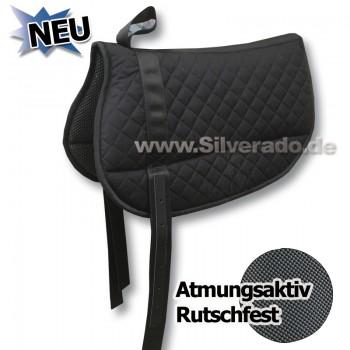2-4170 Atmungsaktiv Rutschfest Neopren-Waabengewebe Reitkissen Western Bare Back Pad