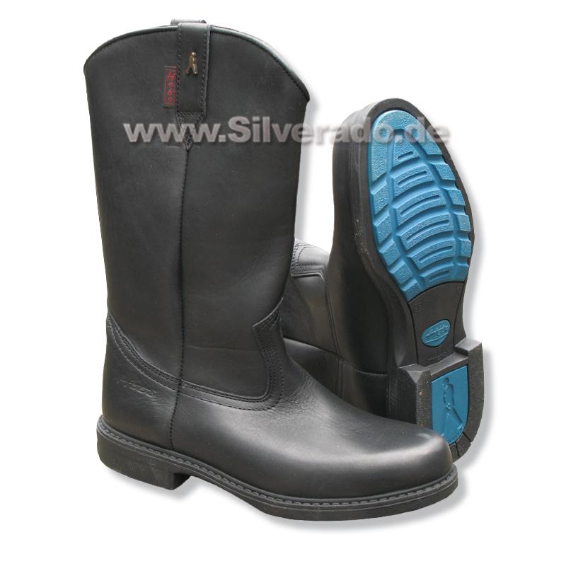 8 215 1 Roper schwarz Westernstiefel von HOBO Stiefel Größe 37 8 215 1